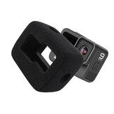 Kamera Sünger Ön Cam ve Gopro Hero9 Spor Kamera için Gürültü Azaltma Koruyucu Kapak