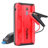 Audew 1000A Peak Portable Car Jump Starter Auto Battery Booster 12V Car Jumper Power Bank Power Pack with Dual USB Ports and Flashlight