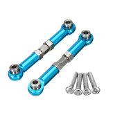 REMO P2512 Roda de anel de aço azul de alumínio termina para buggy Truggy Short Course 1631 1651 1621