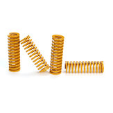 20Pcs Ultimate Upgraded Yellow Flat Bed Leveling Spring Extruder Spring for 3D Printer