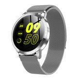 Bakeey 1.22 'HD Цветной экран Сердце Показатель артериального давления Монитор Женский физиологический напоминание камера Управление Smart Watch