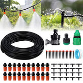 5/15/25m Water Irrigation Kit Set Automatic Micro Drip Watering System Plant Garden Tool Spraying Nozzles Faucet Connector