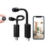 W11 1080P WIFI USB Mini kamera bezpieczeństwa 120 ° Szerokokątna bezprzewodowa kamera IP Wykrywanie ruchu Zdalne monitorowanie Kamera monitorująca dla bezpieczeństwa w domu