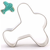 Plane Shape Stainless Steel Cookie Cutter Fondant Cake Mold