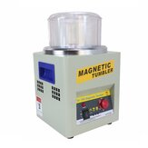 KT-185 AC 110 V / 220 V Magnetic Tumbler Perhiasan Polisher Finisher Mesin Finishing