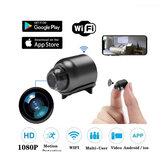 Caméra IP de sécurité 1080P 160 degrés Vision nocturne Audio réordonnancement sans fil WIFI Mini caméra Google Play