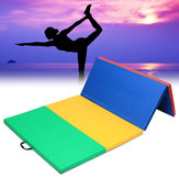 240x120x5cm Folding Gymnastics Panel Exercise Yoga Mats Tumbling Fitness Pad Sport Protective Gear