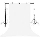 Photography Studio Background Photo Backdrops with Tripod Support Stand White Screen Backdrop Photo Kit