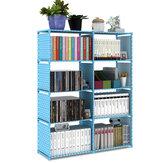 Kétsoros könyvespolc Egyszerű padló polc Gyermek könyvespolc Diák könyvespolc többrétegű megerősített tárolószekrény otthoni irodához