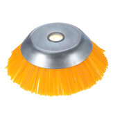 Drillpro 200mm Nylon Trimmer Head Bowl Type Grass Brush Cutter Weeding Brush Wheel for Lawnmower