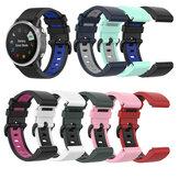 Bakeey 26MM Colorful Watch Strap for Garmin Fenix 6X Smart Watch