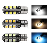 1Pcs T10 W5W 501 LED Car Wedge Side Marker Lights License Plate Bulbs Canbus Error Free