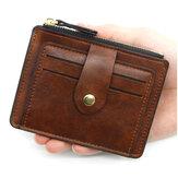 Skórzany portfel na pieniądze Portfel na wiele kart Posiadacz karty kredytowej Biznes Przenośne kieszonkowe prezenty dla mężczyzn i kobiet