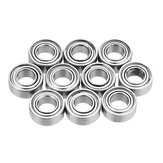 10Pcs 5x10x4mm Metal Sealed Shielded Deep Ball Bearing MR105ZZ