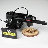 NEJE Master 2 Mini 10W آلة النقش بالليزر G- كود عمودي 360 درجة النقش مع لاسلكي التطبيق مراقبة تجميع كامل سطح المكتب الليزر حفارة كارفر