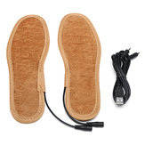 Electric USB Heating Thickening Shoe Insole Warm Sock Feet Heated Warmer Pad