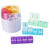 28 Grids Pill Box Organizer Weekly Holder Container Dispenser Case