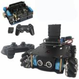4WD Smart Car Chassis Satz mit Motortreiber UNO Development Board und PS2 Wireless Controller