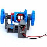 3D18 Engrenagem Diferencial do Automóvel Bloqueio do Diferencial Estrutura de Transmissão Modelo Princípio Impressão 3D