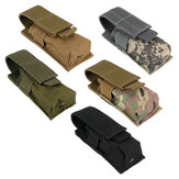 Nylon Single Mag Pouch Insert Flashlight Combo Clip Carrier For Duty Belt Hunting Gun Accessories
