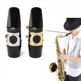 Alto Sax Saxophon Mundstück mit Cap Buckle Reed Patches Pads Kissen