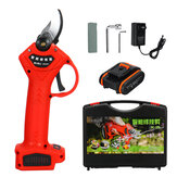 21V Cordless Electric Pruning Shears Garden Pruner Branch Cutting Tool With 1/2 Battery