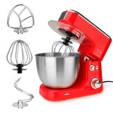 Automatic Mini Egg Beater Stand Mixer Multifunctional 4L Capacity 600W Power Motor Egg Blender 220V 50Hz Tilt Head W Bowl with handle Motor Over-Temperature Protection Kitchen Tools