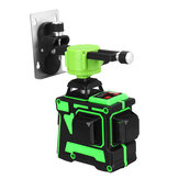 3D 12 Line Green Light Laser Nível Digital Autonivelante 360 ° Medida Rotativa
