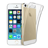 Ultra Thin Clear Transparent Shockproof Soft TPU Case for iPhone 5 5S SE