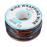 8 colori OK Wire 30AWG Wrapping Wire Line Placcato in stagno Rame Flying Jumper Cable 280m