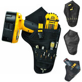Heavy Duty Cordless Impact Drill Holster Tool Bag Belt Pouch Pocket Holder