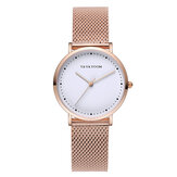 VAVA VOOM VA-36DD Fashion Casual Waterproof Stainless Steel Strap Women Quartz Watch