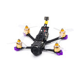 Eachine LAL3 VISTA HD 145 мм 3 дюймов 3-4S FPV Racing Дрон PNP CADDX VISTA DJI F4 FC 1408 3750KV Мотор 25A ESC