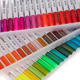 48/60/100 Aquarelstiften in kleur voor het tekenen van tekeningen Professionele aquarelverf penseelset