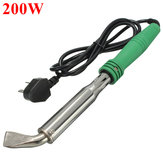 220V 200W Electric Welding Soldering Iron Tool With Curved Tip Lead Free