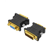 DVI 24+5 to VGA Male to Female Video Adapter