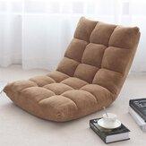 Verstelbare luie bank Gedempte vloer Lounge stoel Woonkamer Vrije tijd chaise stoel