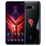 ASUS ROG هاتف 3 ZS661KS Classic Edition Global Rom 6.59 inch FHD + 144Hz Refresh معدل NFC أندرويد 10 6000mAh 12GB 128GB Snapdragon865 Plus هاتف ذكي للألعاب 5G