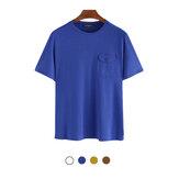 Erkek Crewneck T-Shirt Rahat Fitnes Kısa Kollu Nefes Yaz Tees Yürüyüş Kampçılık Seyahat Tatil