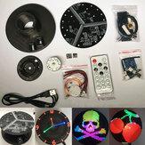 DIY Disc Rotating LED Kit Color Rotating LED Colorful POV Flat Color LED Electronic Production