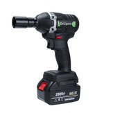 Drillpro 288VF 630N.m Brushless Cordless Electric Impact Wrench 19800mAh Powerful Tool