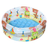 3 Ring Baby Kids Inflatable Swimming Pool Ocean Ball Pool Bathtub Outdoor Indoor Children Water Play Fun Toys