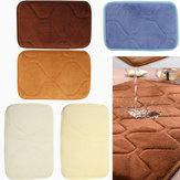 30x20 centimetri piccola forma antiscivolo assorbente velluto corallo memory foam tappeto