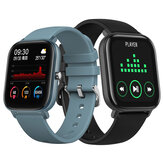 Bakeey P8 1.4inch Full Touch Screen Heart Rate BP BO2 Monitor Weather Push Brightness Control BT4.2 Smart Watch
