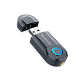 Trasmettitore wireless bluetooth senza driver driver USB bluetooth 5.0 adattatore ricevitore Dongle Bluetooth stereo plug and play per computer portatile