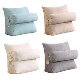 Almofada ajustável em cunha para trás Soft Travesseiro de apoio para leitura das costas Almofada triangular das costas para sofá-cama Cadeira de escritório