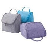 IPRee®AufbewahrungstaschefürgroßeKapazitätCation Oxford Cloth Wash Bag Outdoor Hanging Cosmetic Waterproof Bag