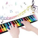 iword S2037 37 touches 8 tons à la main roll up piano pour enfants instrument de musique