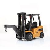 HuiNa 577 Forklift Alloy Metal Plastic 2.4G 8CH RC Truck Multi-players Toy Gift