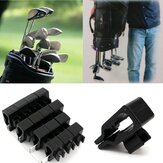 14PCS Sports Golf Bag Clip On Putter Clamp Holder Putting Organizer Golf Club Grips Equipment